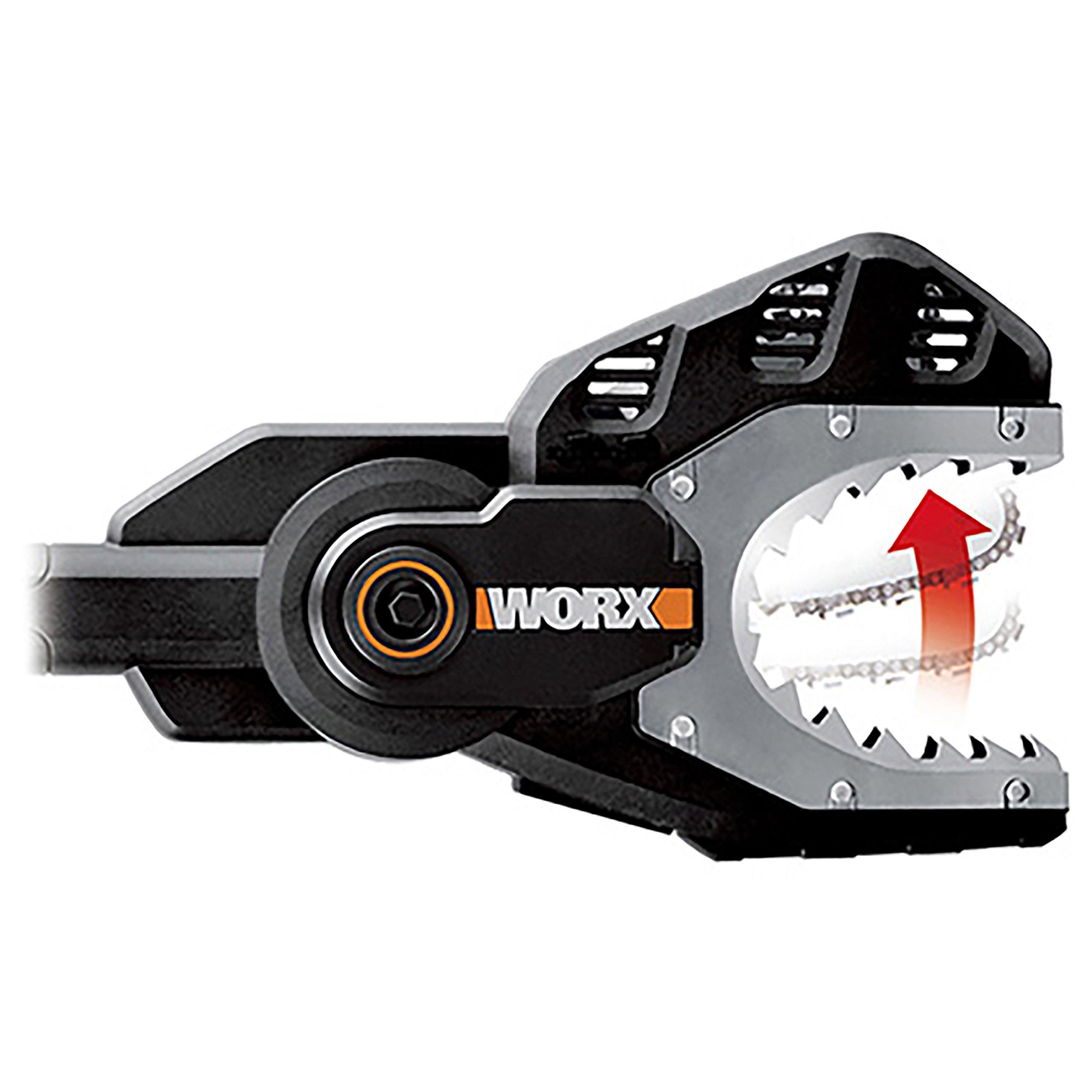 Worx WG329E.9 20V Astsäge Jawsaw, ohne Akku, Stahlzähne