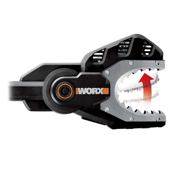 Worx WG329E 20V Astsäge Jawsaw, Stahlzähne