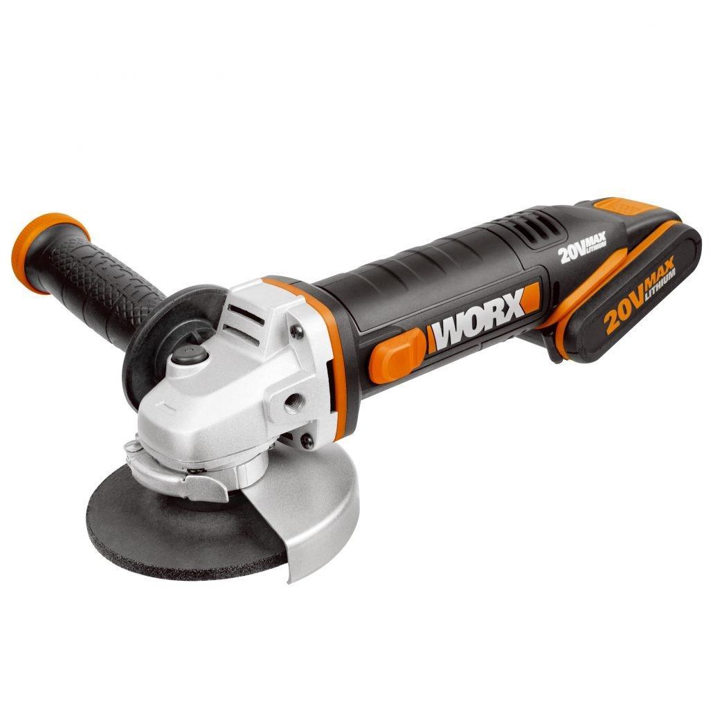 worx akku-winkelschleifer 20v wx800 • worx