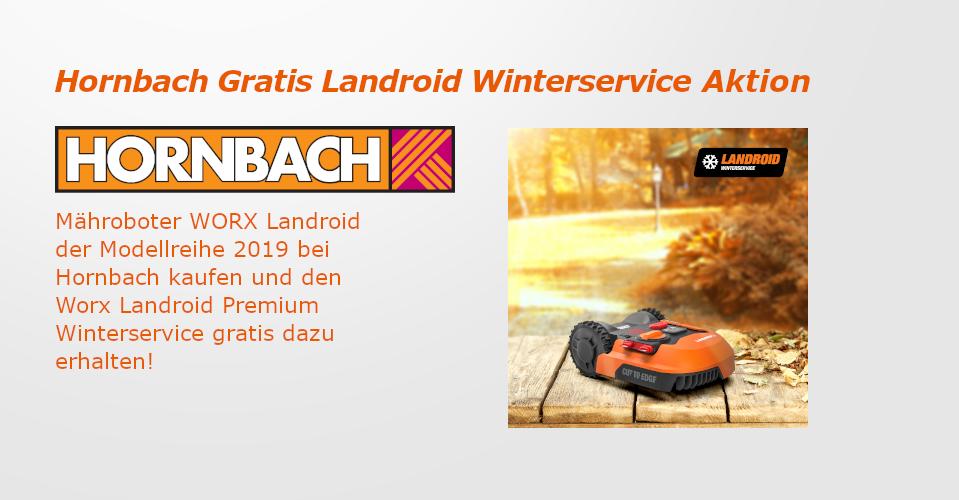 Worx Landroid Bei Hornbach Kaufen Und Gratis Wintersrevice Erhalten